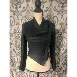 RACHEL ROY Asymmetrical Cropped Jacket Women's - S